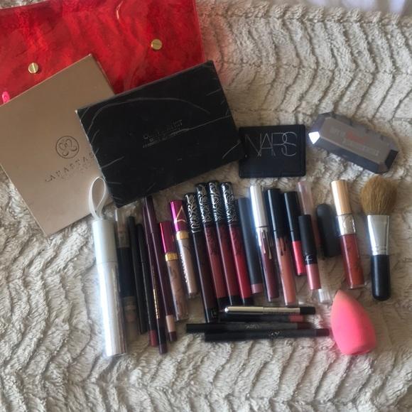 Kylie Cosmetics Makeup Lot Of Used Kylie Nars Anastasia Bite